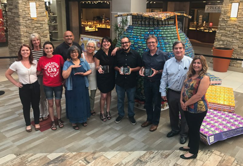 CANstruction Santa Fe 2017 Winners