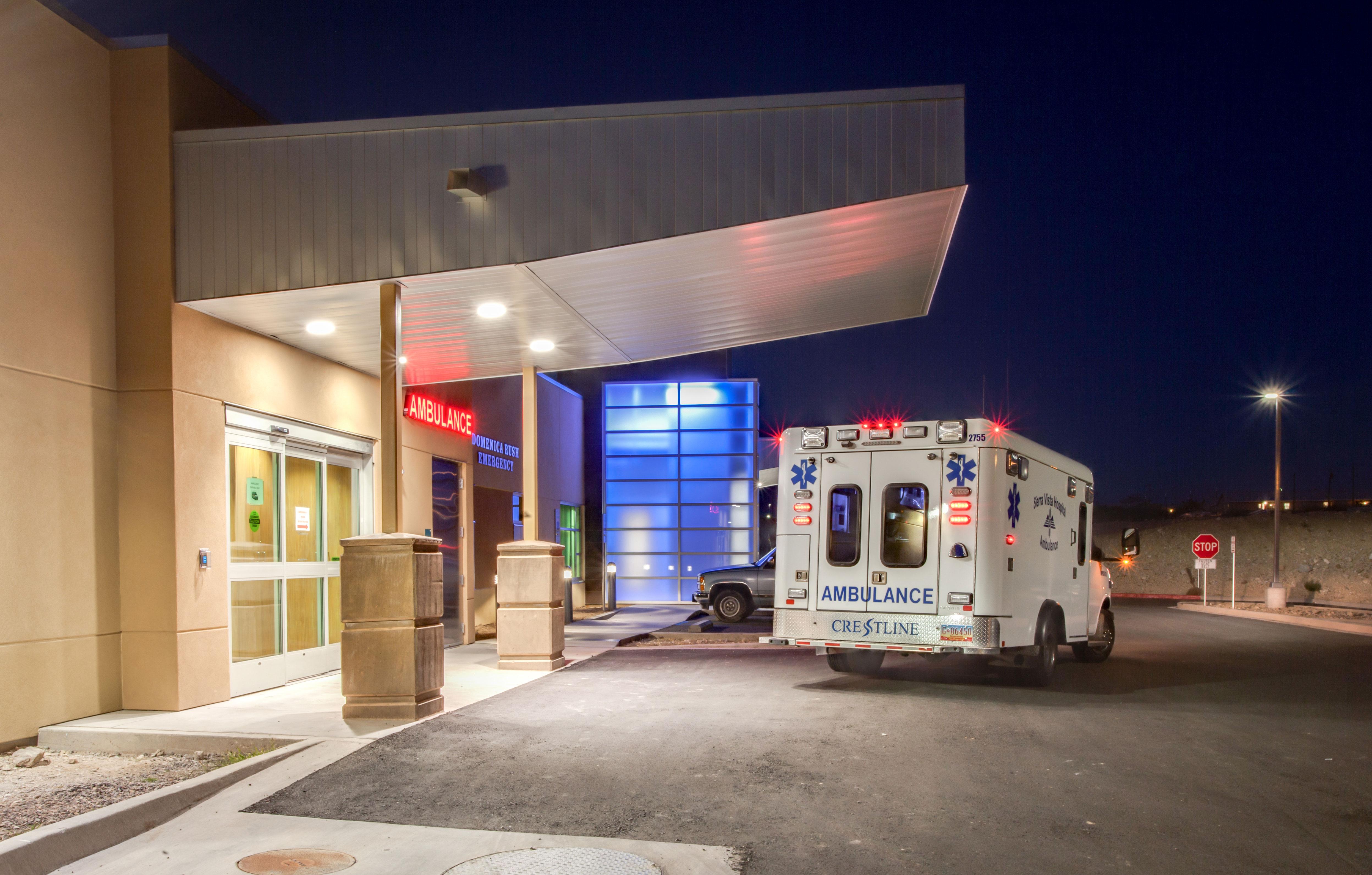 What Are Diffusers >> Sierra Vista Hospital Emergency Department | Studio ...